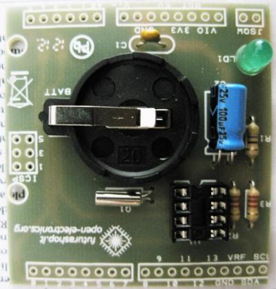 RTC shield portabatteria CR2032