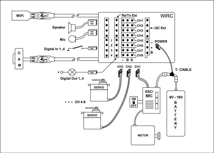 Schema Collegamento Bms : Aiuto collegamento ricevente quadricottero baronerosso