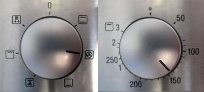 forno 140-150° ventilato
