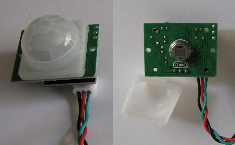 Schema Collegamento Lampada Con Sensore Di Movimento : Sensore pir: primo progetto e test mauro alfieri elettronica