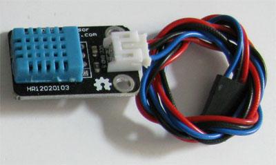 sensore umidità e temperatura