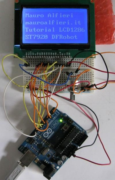 128x64 LCD ST7920