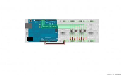 collegamenti della relay shield