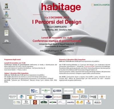 habitage 2012 invito
