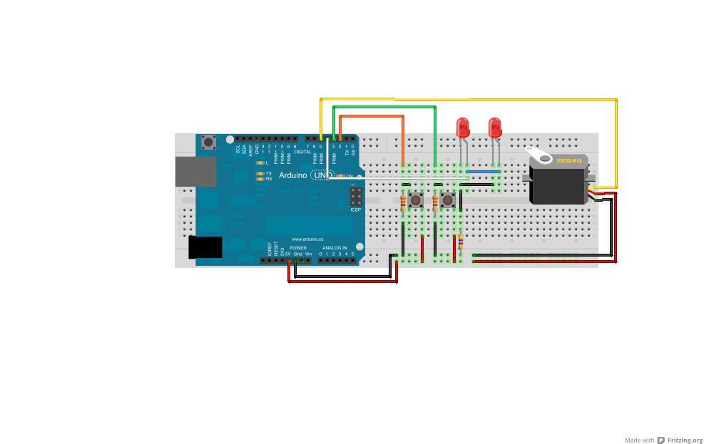 Schemi Elettrici Per Arduino : Passaggio a livello per plastici con arduino mauro alfieri