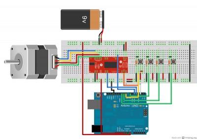 schema dei collegamenti dell'easy driver