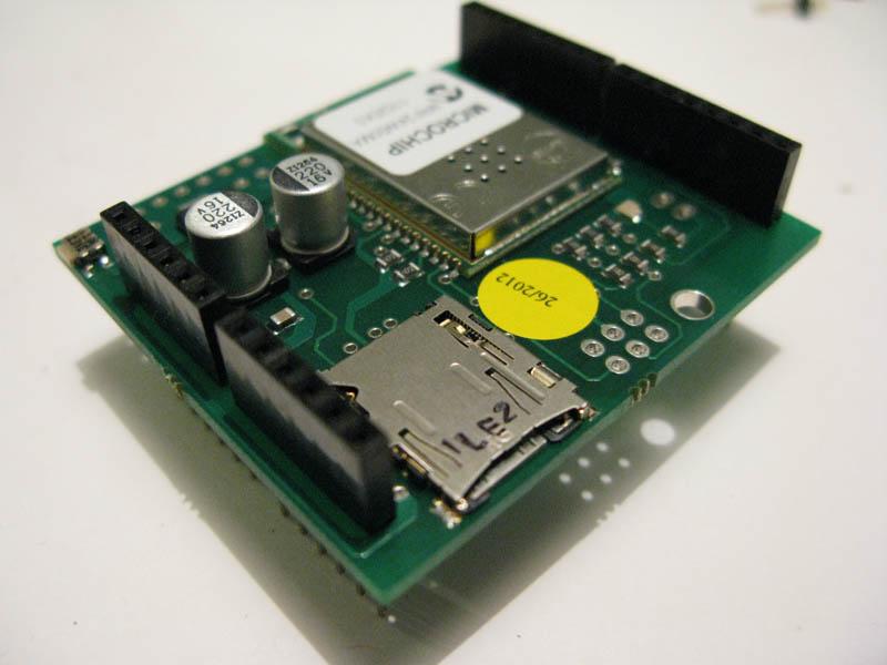Wifi shield arduino installazione librere ed esempi