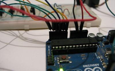 arduino servo pulsanti connessioni