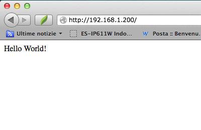 homepage wifi shield arduino