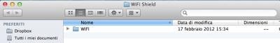 libreria wifi shield arduino decompressa