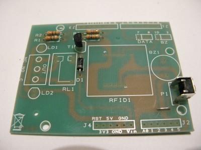 rfid shield transistor