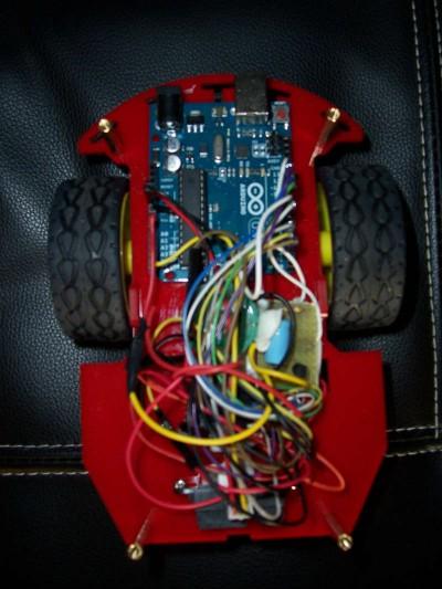 Robot Beginner Kit posiziona l'elettronica