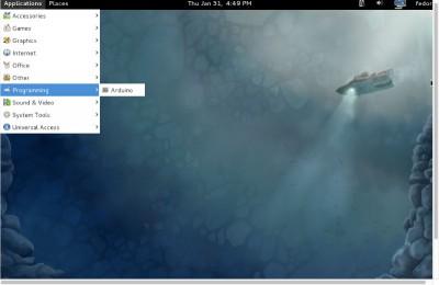 Arduino IDE 0022 Fedora