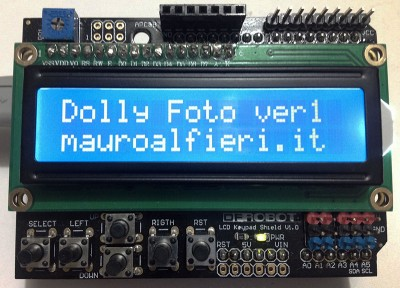 Keypad LCD Dolly Photo