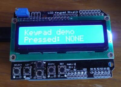 keypad LCD demo