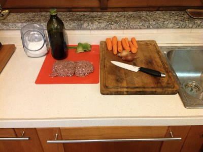 Ragu bolognese ingredienti