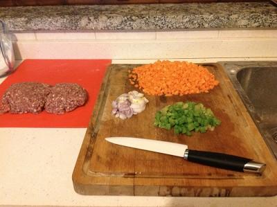 Ragu bolognese cipolla sedano carote