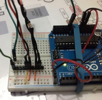 SHARP-GP1A57HRJ00F arduino