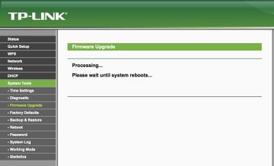 OpenWRT su MR3020 Install Firmware