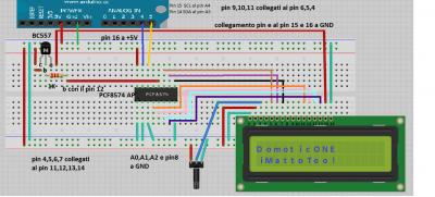 PCF8574P i2c lcd schema