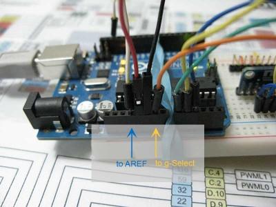 mma7361l connessioni
