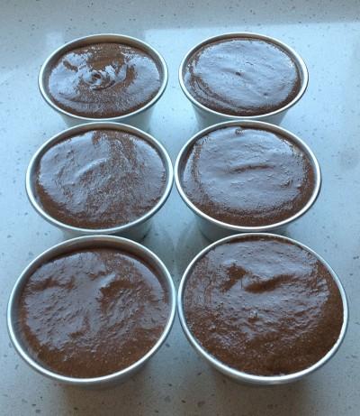 mousse di cioccolato bimby negli stampini