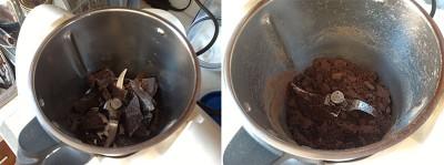 tritare cioccolato bimby