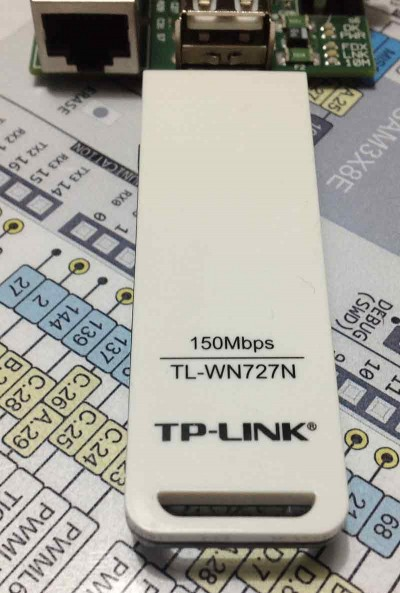 raspberry wifi dongle tp-link