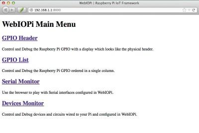 webiopi raspberry remote access