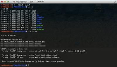 webiopi raspberry install