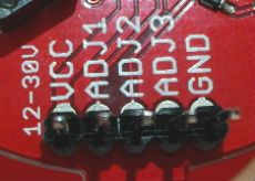 LED Tri-Color Driver connettore