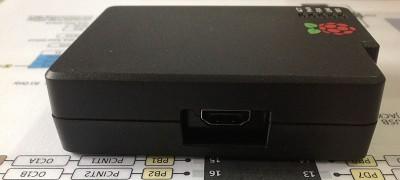Raspberry Pi case  HDMI