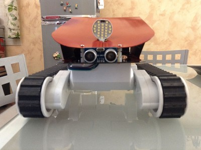 Rover arduino frontale