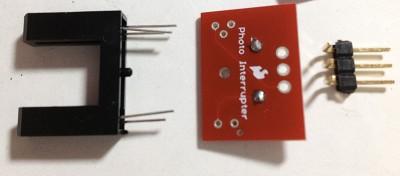 breakout per GP1A57HRJ00F posiziona componenti