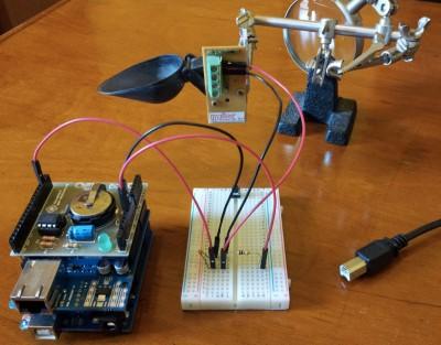 pluviometro arduino il progetto