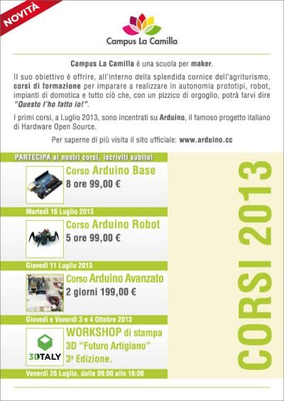 CampusLaCamilla Corso Base Arduino