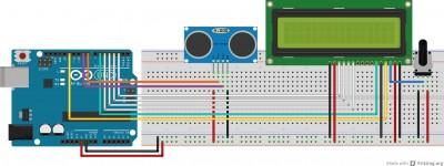 schema elettrico del digital meter