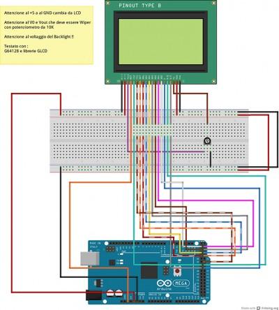 G64128 Arduino Mega