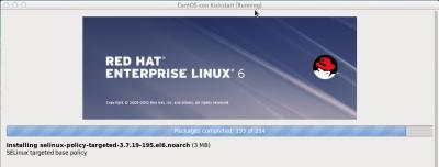 Kickstart Linux installazione