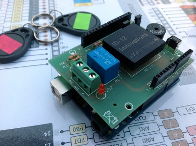 RFID shield con arduino