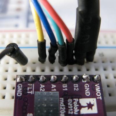 drv8825 stepper motor collegamenti