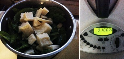 pesto di basilico parmigiano
