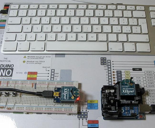 Tutorial xBee Arduino - Mauro Alfieri Elettronica robotica
