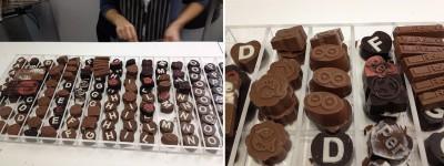 Maker Faire Rome cioccolatini personalizzati
