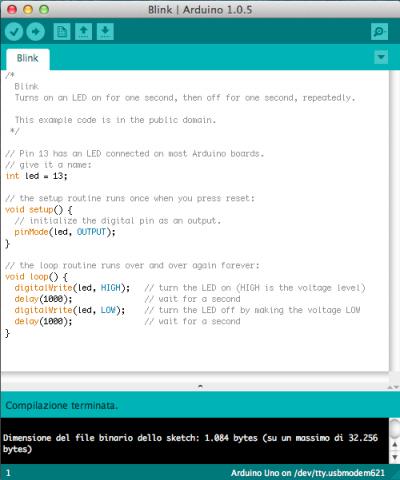errori arduino ide  compilazione