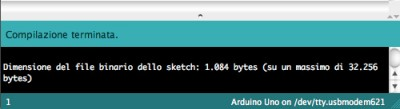 errori arduino ide success