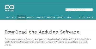 Arduino Yun downlad page