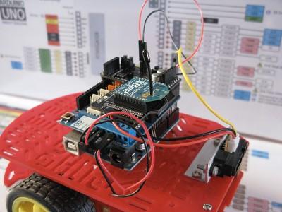 Robot Beginner Radio Cavi superiori step7