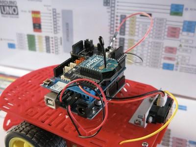 Robot Beginner Radio Xbee module step6