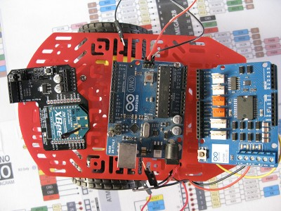 Robot Beginner Radio materiale